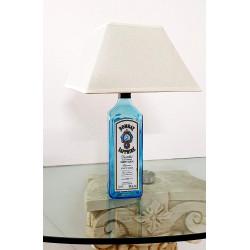 LAMPADA DA TAVOLO O COMODINO BOTTIGLIA BOMBAY PARALUME CHIARO