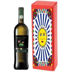 BOX ELEGANTE 1 - 3 - 6 BOTTIGLIE DA 75CL VINO MARIA COSTANZA BIANCO...